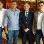 Sindojus participa de reunião com o presidente do TJCE