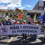 Oficiais de Justiça do Ceará marcam presença no Ocupa Brasília