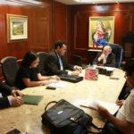 Sindojus se reúne com o presidente do Tribunal de Justiça do Ceará