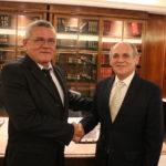 Nova diretoria realiza a primeira reunião com o presidente do TJCE