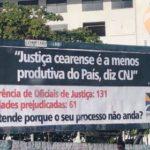 Oficiais de Justiça denunciam déficit e cobram do TJ/CE nomeações de servidores