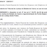 Portaria regulamenta o Fundo Especial de Custeio das Despesas com Diligências dos Oficiais de Justiça
