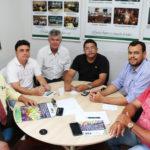 Sindojus recebe visita do presidente da CSB Seccional Ceará