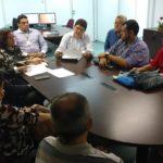 Reunião debate o reenquadramento na tabela de nível superior