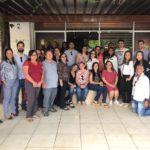 Oficiais de Itapipoca realizam reunião com os servidores do Fórum