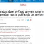 Imprensa repercute aumento de 16,38% para magistrados e proposta de redução de direitos dos servidores