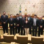 Sindojus participa de encontro da Fesojus em Brasília e se reúne com oficiais (as) do Crajubar