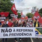 Oficiais de Justiça vão às ruas dizer NÃO à Reforma da Previdência