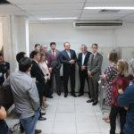 Presidente do TJCE realiza visita à Sala dos Oficiais de Justiça e escuta demandas da categoria