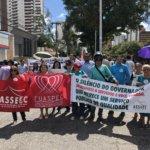 Sindojus participa de ato em defesa da reposição das perdas salariais