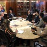 Presidente do TJCE apresenta encaminhamentos aos pleitos dos Oficiais de Justiça