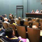 Conveniados se reúnem para debater os contratos com a Claro e a Unimed