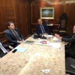 Diretoria do Sindojus é recebida pelo presidente do Tribunal de Justiça