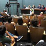 Ricardo Prado fala aos Oficiais de Justiça do Ceará sobre a experiência de conciliação iniciada em SC