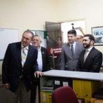 Presidente do TJCE visita Sala dos Oficiais de Justiça de Crato e Juazeiro do Norte