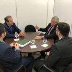 Pleitos dos Oficiais de Justiça é tema de encontro com o presidente do TJCE