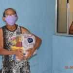 Sindojus realiza a primeira remessa de entrega de cestas básicas a famílias do São Miguel