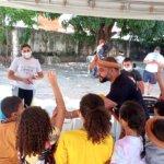 Sindojus comemora Dia das Crianças com brincadeiras e doação de brinquedos