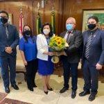 Sindojus participa da primeira reunião com a nova presidente do Tribunal de Justiça do Ceará