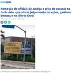 Jornal Alerta Geral aborda designações temporárias de Oficiais de Justiça