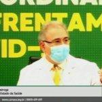Ministro da Saúde é questionado sobre ausência de Oficiais de Justiça no Plano Nacional de Vacinação