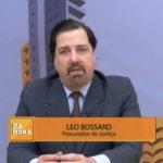 Procurador de Justiça Léo Bossard fala da importância e dos riscos do trabalho do Oficial de Justiça