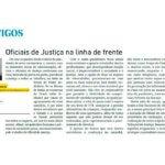 """Vagner Venâncio: """"Oficiais de Justiça na linha de frente"""""""
